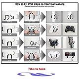 Universal Game Controller Holder Wall Mount Rack