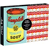 Galison Andy Warhol Soup Can 2-Sided 500 Piece Puzzle, 1 EA