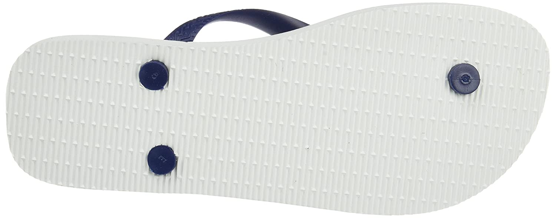 Havaianas Zehentrenner (Weiß/Navy Herren Top Nautical Mehrfarbig (Weiß/Navy Zehentrenner Blau) 00772d
