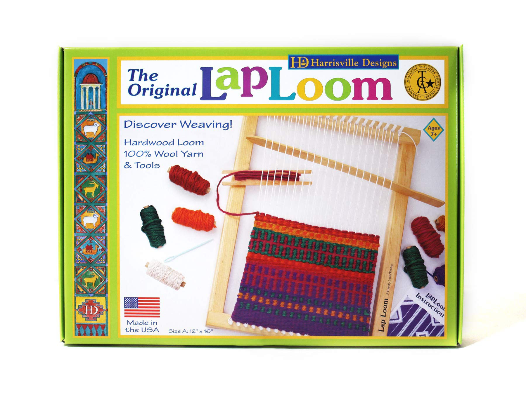Amazon Com Harrisville Designs Lap Loom Style A Toys Games