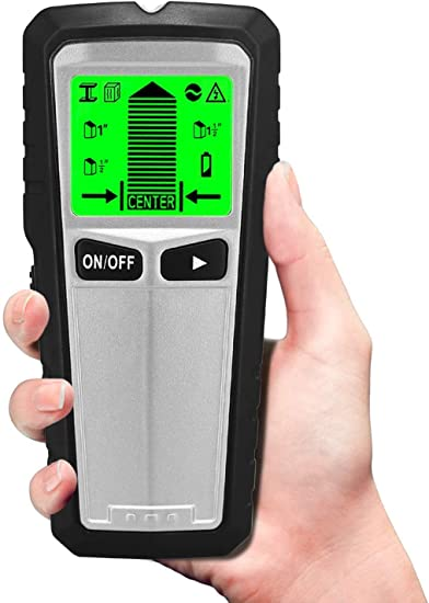 Handheld LCD Digital Wall Detector Metal Wood Stud Finder AC Cable Wire Probe