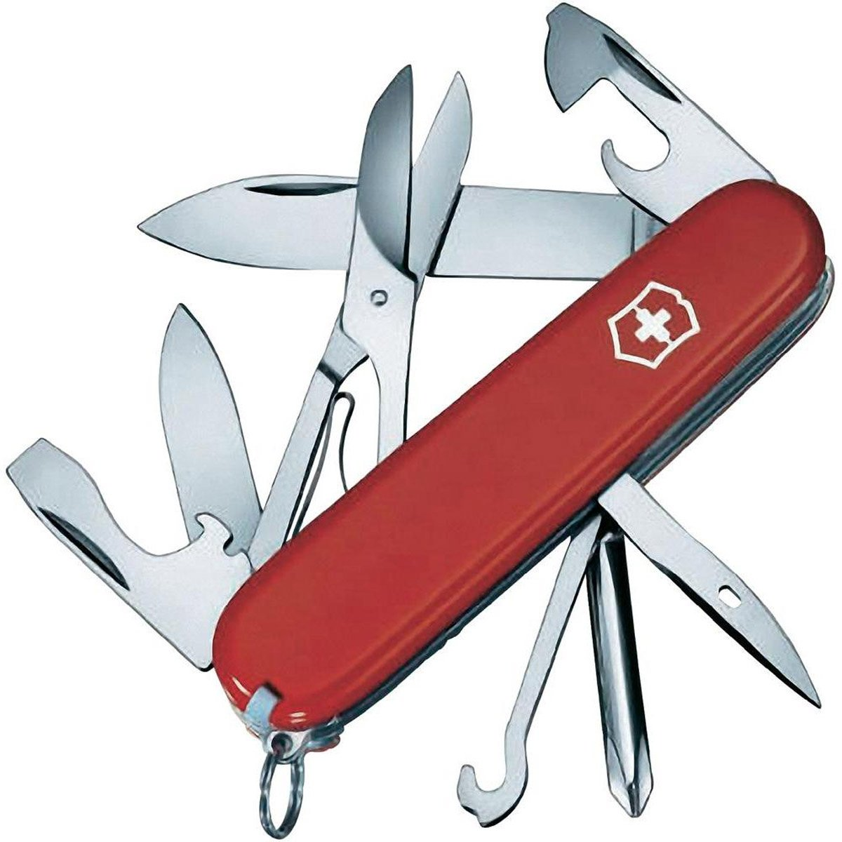 Victorinox Swiss Army Super Tinker Pocket Tool - Red by Victorinox