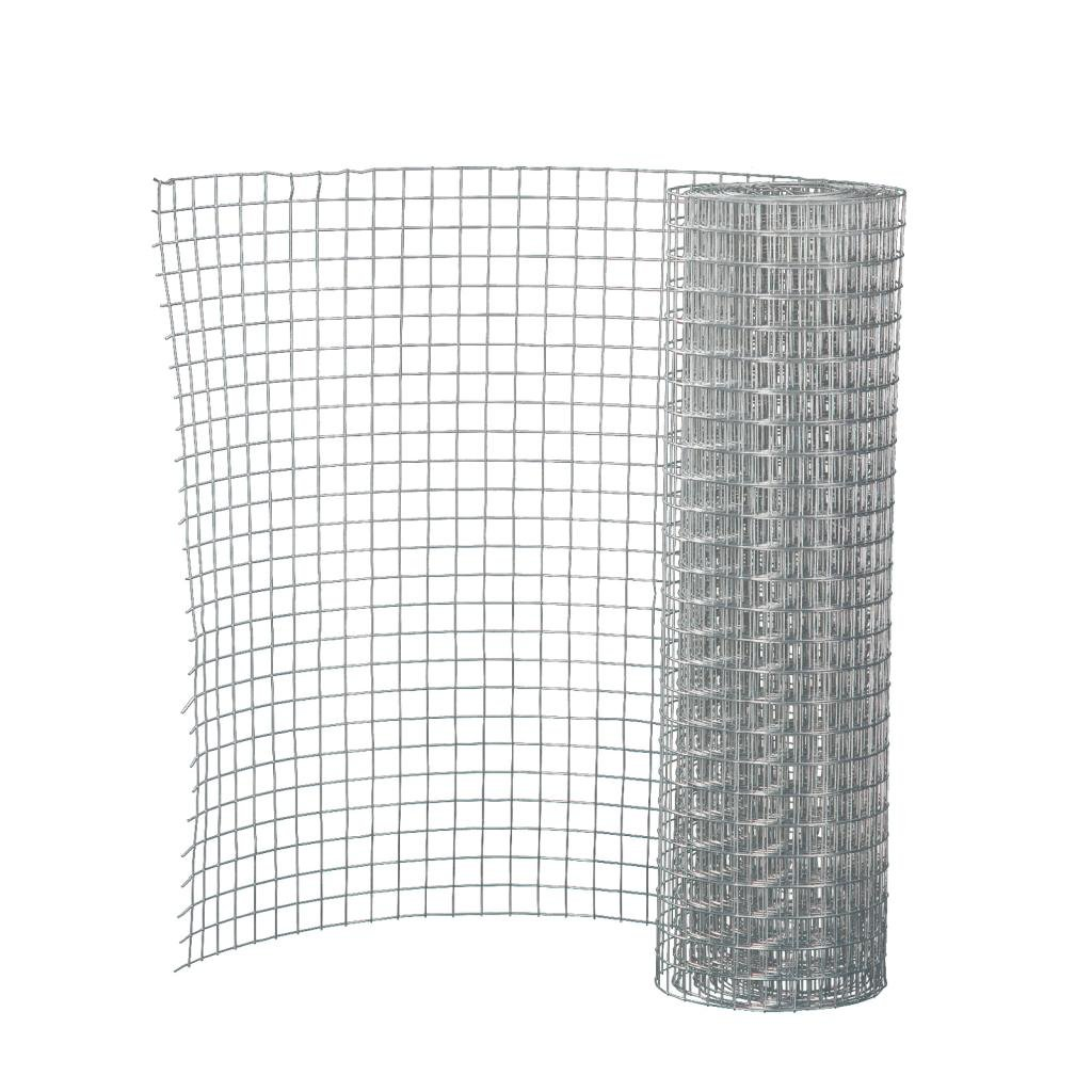 24inch Tall X 5ft Long 1/8'' Galvanized Hardware Cloth Metal Wire Mesh Chicken Fence Poultry Netting,Dirt Sifter Window Dryer Vent Cover Fences DIY by Super-Home