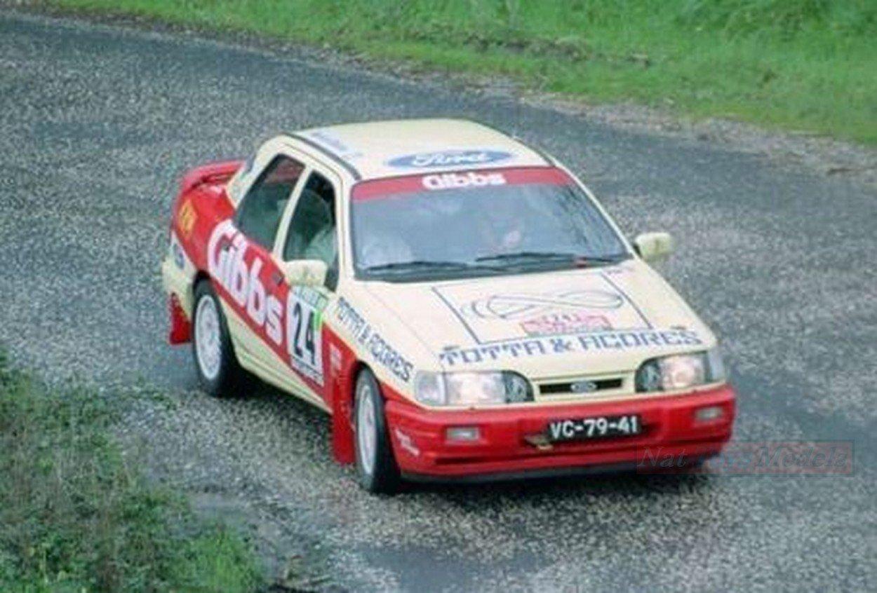 TROFEU TFMNP223 Ford Sierra N.24 Rally Portugal 1991 F.Peres-R.CALDEIRA 1:43