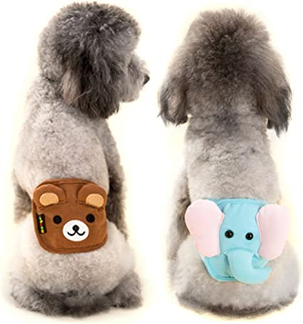 Alfie Pet Size: L Gaki Belly Band 3-Piece Set for Boy Dogs