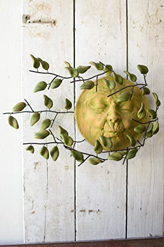 KALALOU Wind Blown Sun Face Wall Hanging