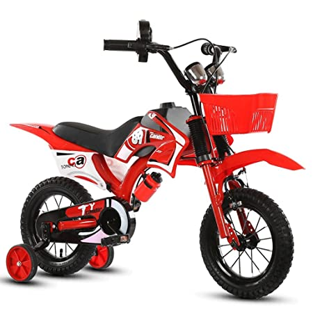 a0ac71db7f7 Children's Bike Balance bike motorcycle-style bike red and blue for 2-3  years old kids: Amazon.co.uk: Kitchen & Home