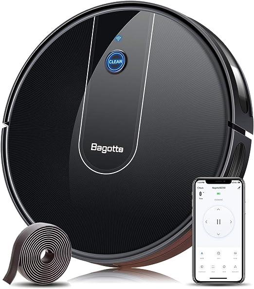 Bagotte BG700 - Robot aspirador con control por voz Alexa, muy ...