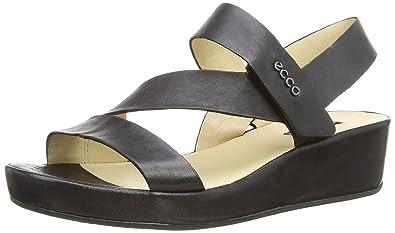 bf7de6045537 ECCO Women s Tabora Wedged-Heel Sandals