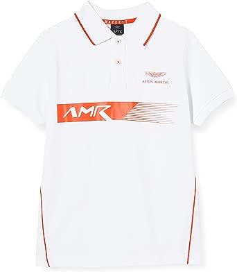 Hackett London Amr PNL Print SS Y Camisa Polo para Niños