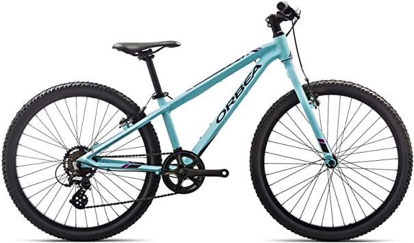 Bicicleta de montaña para niños Orbea MX de 24 pulgadas, 7 marchas, bicicleta de montaña de aluminio, I015, color azul, tamaño talla única: Amazon.es: Deportes y aire libre
