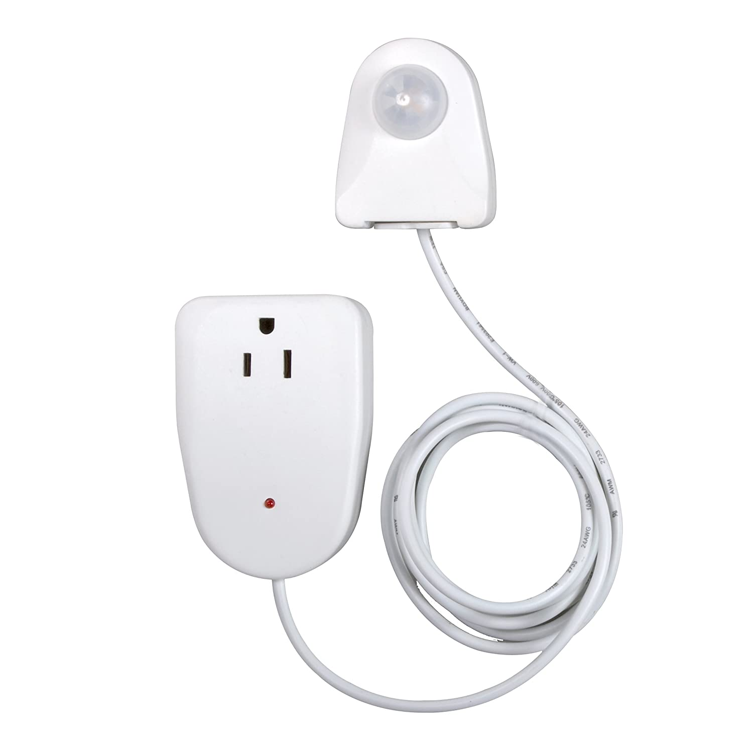 Amazon.com: Westek Indoor Plug-In Corded Motion Activated Light Control MLC12BC-4 (2 pack): Home & Kitchen