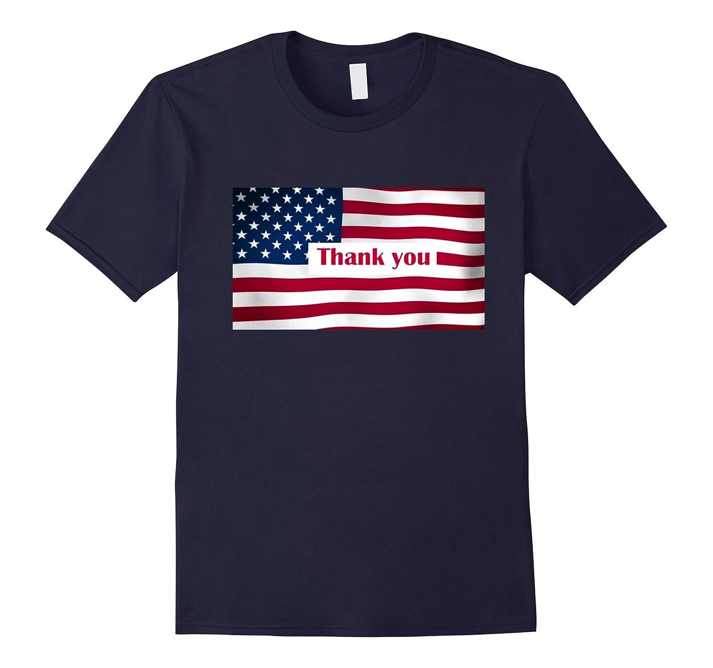 American Flag TShirts Thank you Veterans Flag Day tshirt-Art