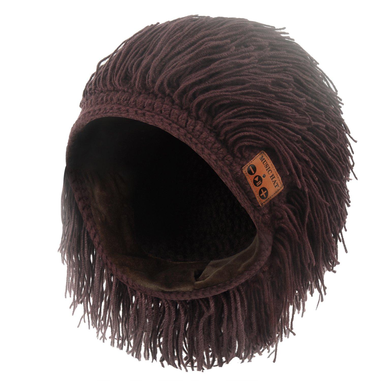 Pococina Bluetooth Berretto floscio dotato Musica Cappello con altoparlante stereo per uomo e donna (HW-Grigio) Meishengfa J01A081B-AM1UK