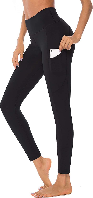 New Ladies Womens High Waist Tummy Control Stretch Leggings Pants 8-24