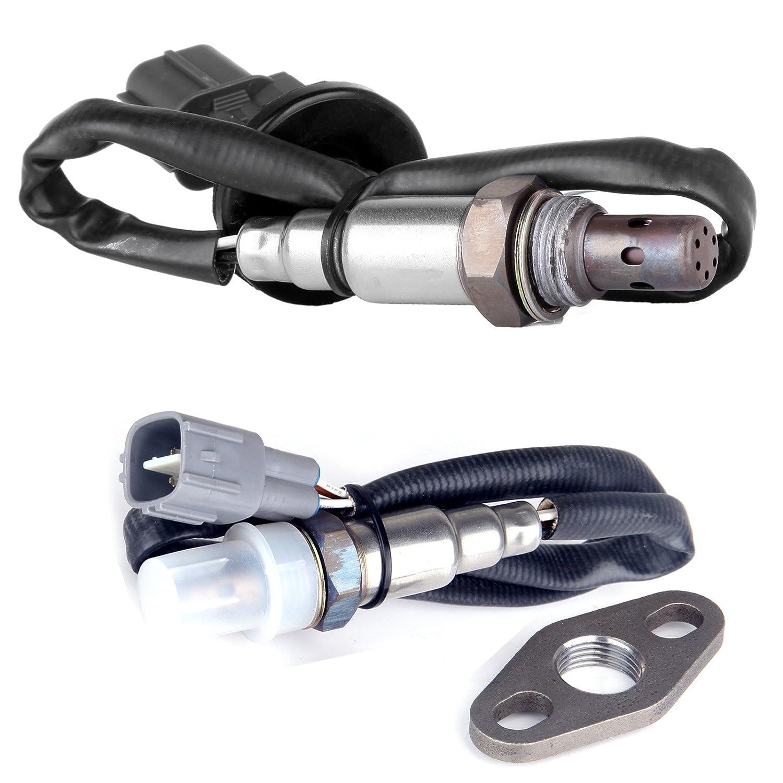 2× Quality Oxygen O2 Sensor Front Rear For 2002-2003 Nissan Altima Maxima 2.5L