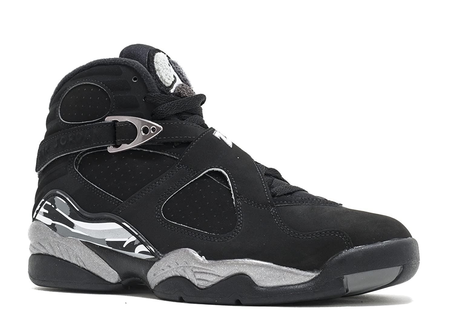 AIR JORDAN - エアジョーダン - AIR JORDAN 8 RETRO 'CHROME' - 305381-003 - SIZE 7 (メンズ) B019VULF0I