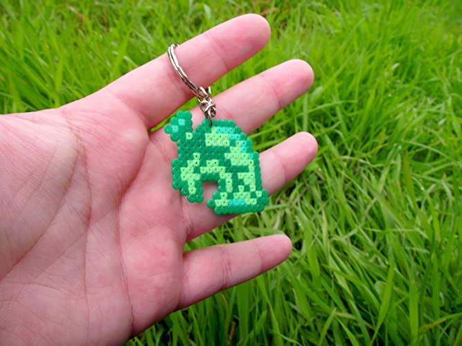 Keychain Representing The Leaf From Animal Crossing
