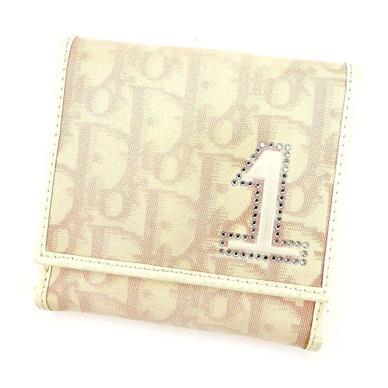 (ディオール)Dior 二つ折り 財布 Wホック ユニセックス トロッター 中古 P610 B0754C5Q41
