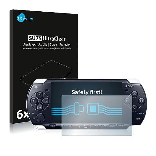 6 opinioni per [6 Pack] Savvies Pellicola Protettiva per Sony PSP 3004 Protezione Proteggi