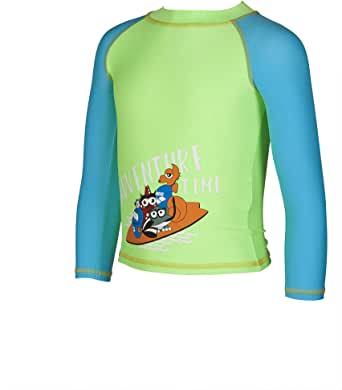 ARENA Boys UV Protection Long Sleeve Shirt Camiseta UV Niños