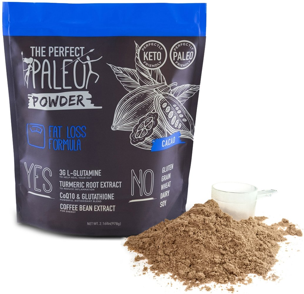 Clovis: Fat Loss Collagen Superfood Powder - 30 Servings - Paleo Superfood Powder - Helps Accelerate Fat Loss - Heals Your Gut and Improves Digestion -15 G of Beef Collagen Protein by The Perfect Paleo Powder