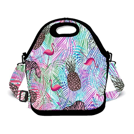 95bec1ff3625 Amazon.com: Insulated Lunch Bag Lunch Pack for Adults/Girls/Boys ...