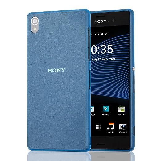 106 opinioni per kwmobile Custodia chic, super sottile per Sony Xperia Z3 colore blu- Completa il