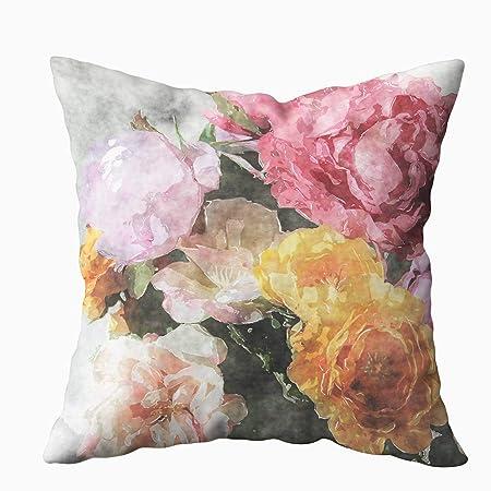 Amazon.com: EMMTEEY - Funda de almohada para sofá o cojín ...
