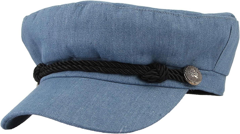 Gemvie Unisex Flat Hat...