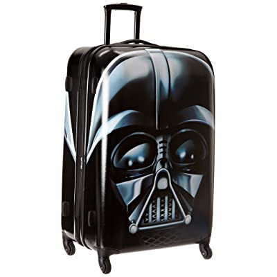 80%OFF American Tourister Star Wars 28 Inch Hard Side Spinner, Darth Vader, One Size