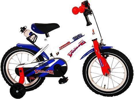 .Volare Bicicleta Infantil Niño Chico 14 Pulgadas Freno Delantero al ...