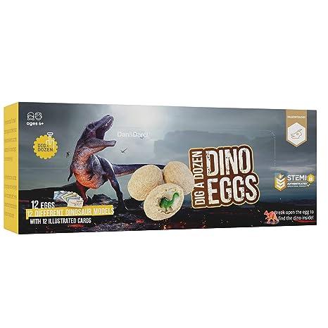 Cave una Docena de Huevos de Dinosaurio - Abra 12 Huevos de ...