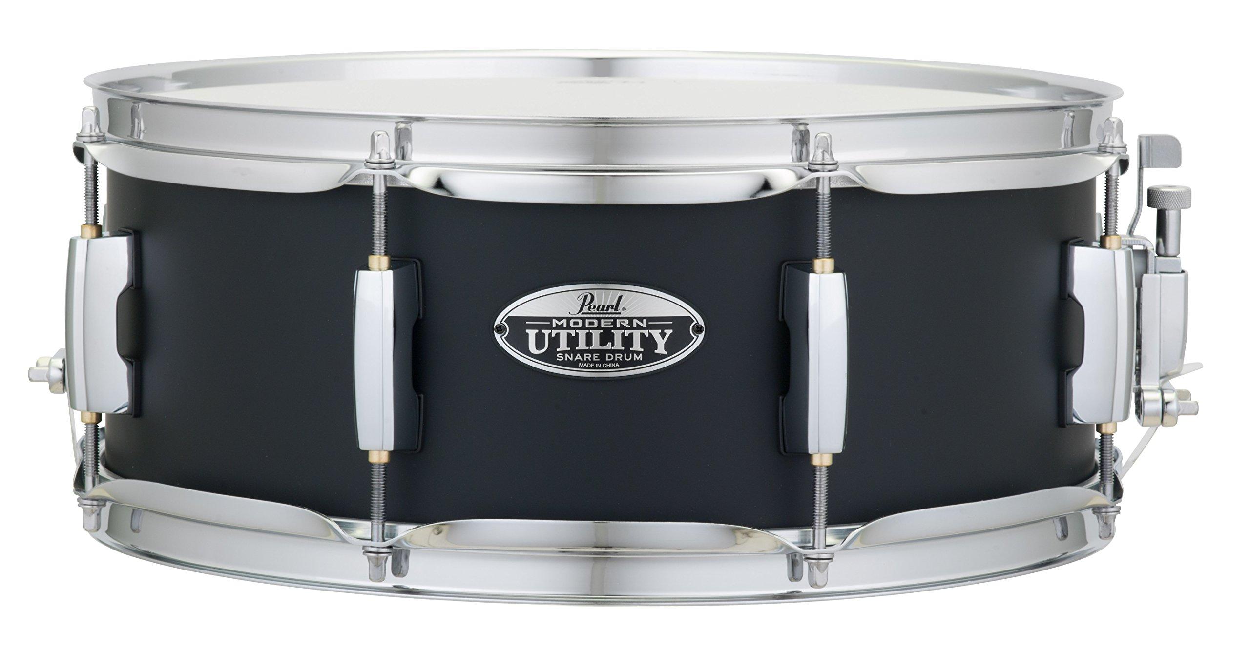 Pearl Snare Drum, Satin Black (MUS1455M227)