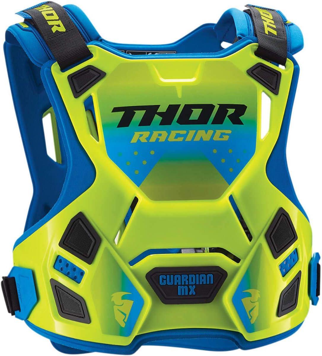 Thor Kids Brustpanzer Guardian MX Flo Gr/ün//Blau