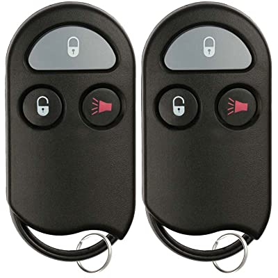 KeylessOption Keyless Entry Remote Control key fob Replacement for KOBUTA3T (Pack of 2): Automotive