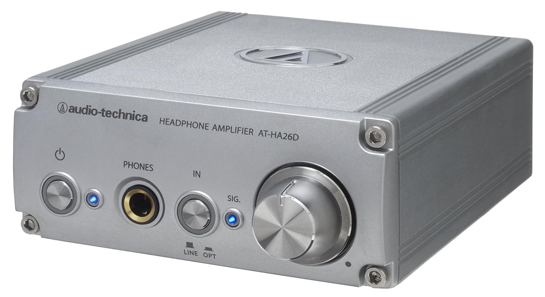 audio-technica D/Aコンバーター(24bit/192kHz対応)内蔵ヘッドホンアンプ AT-HA26D B0065VAIDW