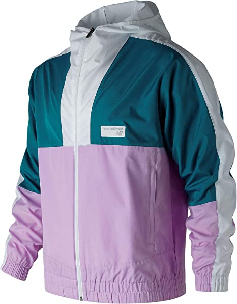Amazon.com: New Balance Athletics - Chaqueta cortavientos ...