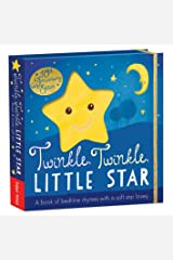 Twinkle, Twinkle, Little Star: A book of bedtime rhymes with a soft star lovey Board book