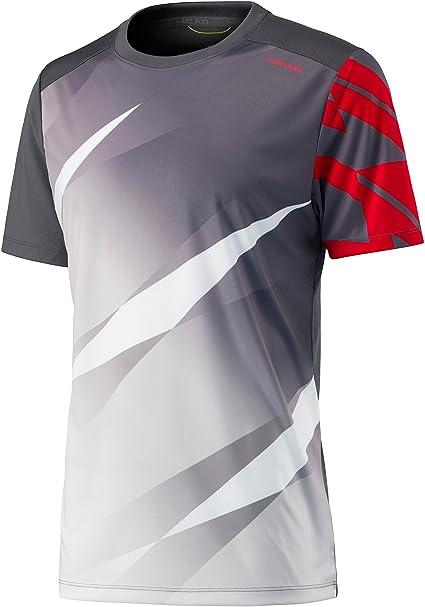 Head Vision Graphic – Camiseta de Tenis para Hombre Antracita ...