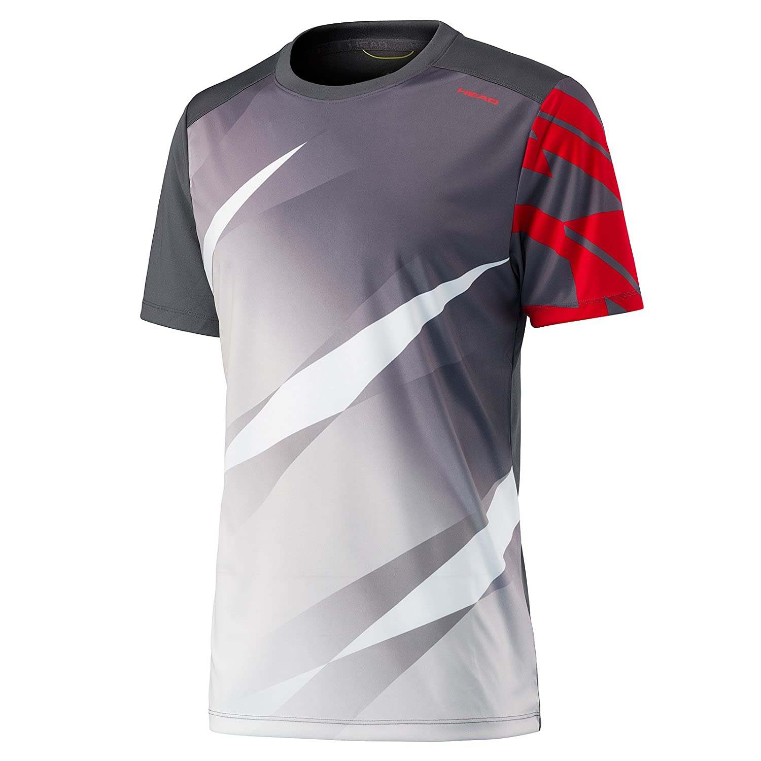 Head Vision Graphic - Camiseta de Tenis para Hombre Antracita ...