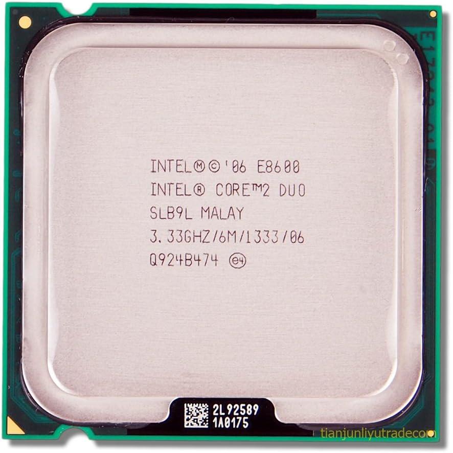 Intel Core 2 Duo E8600 SLB9L 3.33GHz 6M 1333 MHz Socket LGA775 CPU Processor