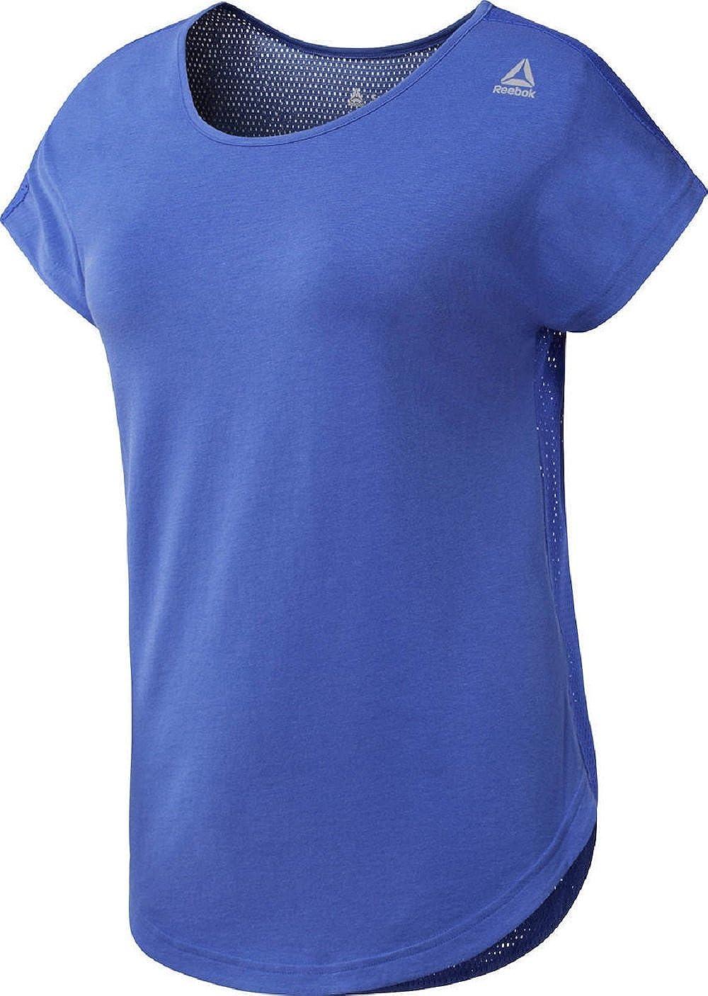 Mujer Reebok Wor Mesh Camiseta