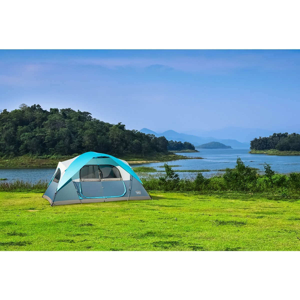 Timber Ridge Large Family Tent for Camping with Carry Bag, 2 Rooms by Timber Ridge (Image #2)