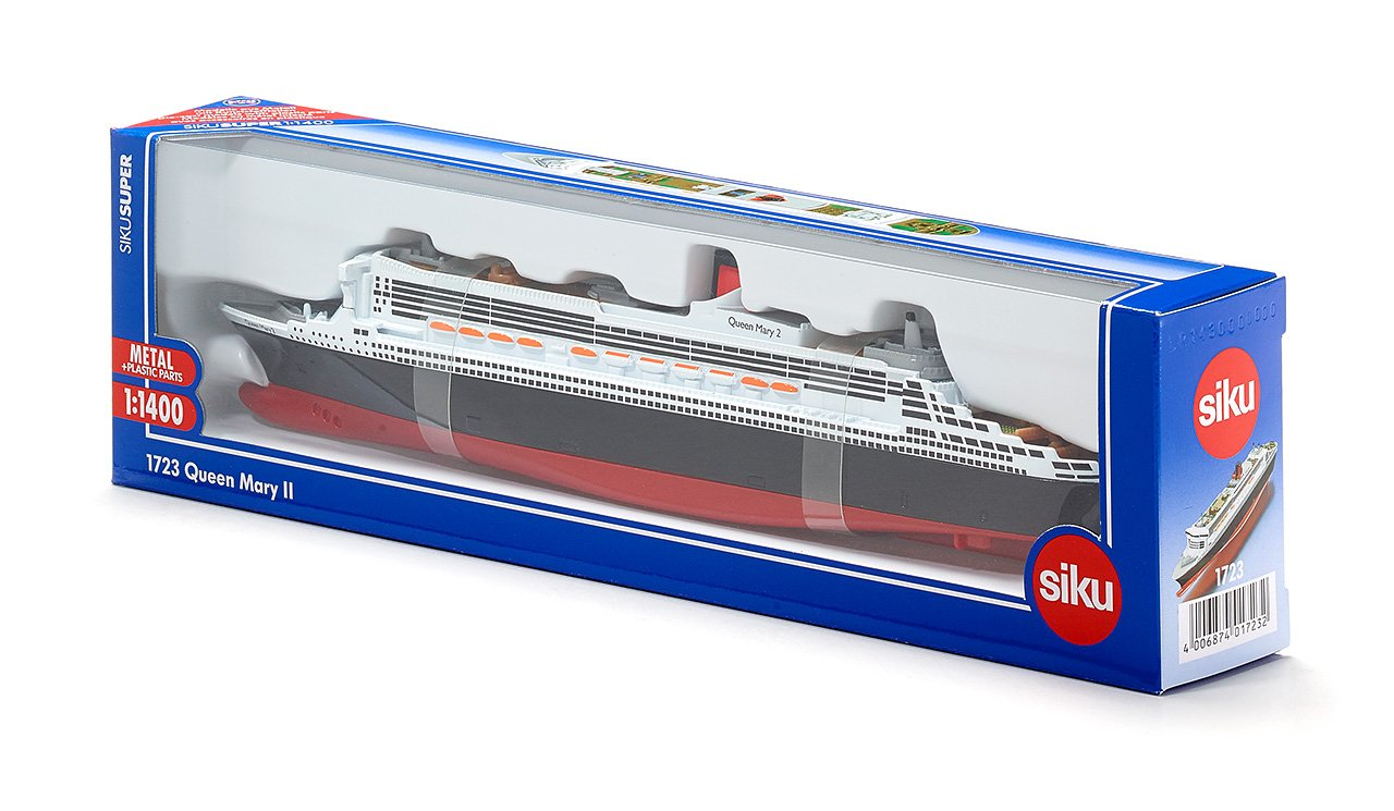 Amazoncom Siku Queen Mary Ii Ship Toys Games - Cruise ship toys for sale