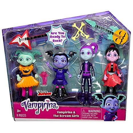 Amazon Com Vampirina The Scream Girls Figure Set Toys Games