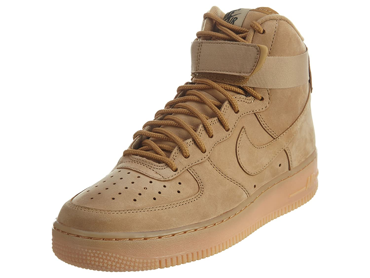 uk availability 861a8 47176 Nike Air Force 1 Men s Flax Synthetic Shoes - 12.5 M US  Buy Online at Low  Prices in India - Amazon.in
