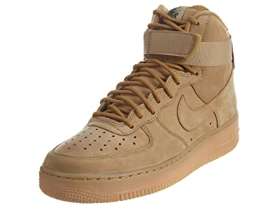 online retailer ad043 4d6ae Nike Air Force 1 Men's Flax Synthetic Shoes - 12.5 M US: Buy ...