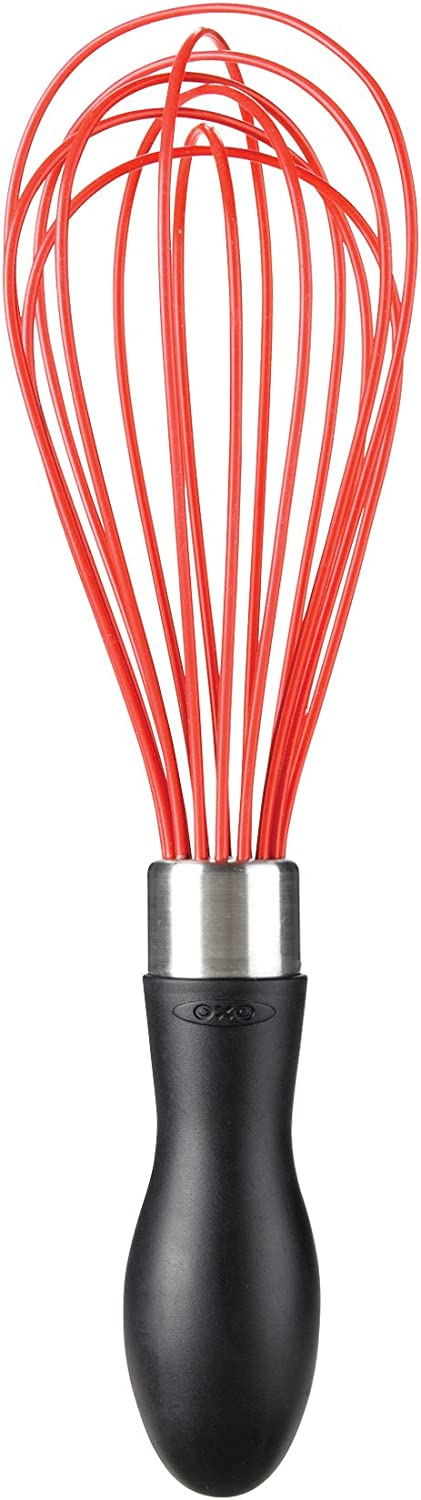 OXO Good Grips 9-Inch Silicone Whisk - Red