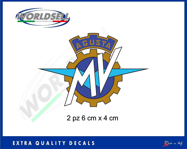 Aufkleber Aufkleber Logo MV Agusta F3 800 750 F4 1000 RR Brutale RIVAL ROAD WORLDSELL